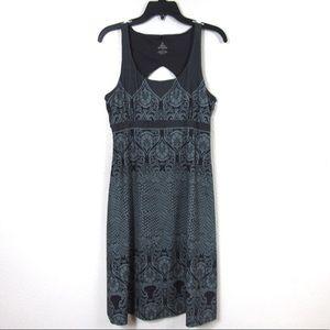 Prana Scoop Neck Dress Gray XL